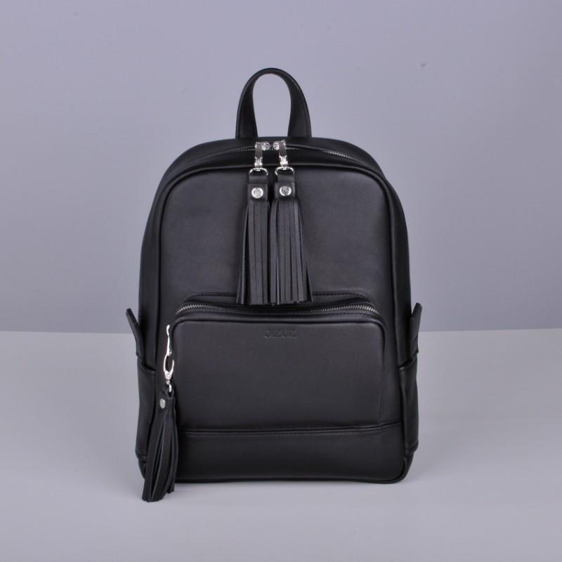 334c5c9deaa2 Кожаный женский рюкзак Copper с кисточками от интернет-магазина ...