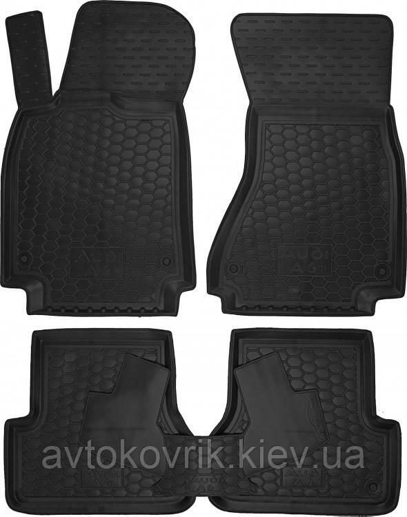 Полиуретановые коврики в салон Audi A6 (C7) 2014- (AVTO-GUMM)