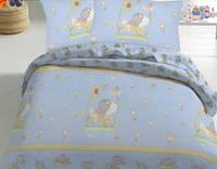 Комплект постельного белья полуторный бязь  - 10-0211 blue