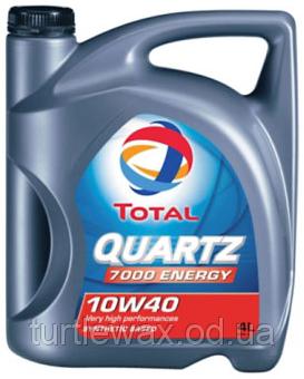 Масло моторное TOTAL QUARTZ 7000 ENERGY 10W-40, 4л