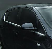 Opel Astra J 2010+ гг. Нижняя окантовка стекол (Hatchback, 8 шт, нерж) Carmos - Турецкая сталь