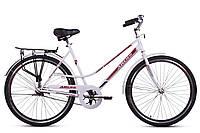 """Велосипед ARDIS City Style 24"""" 17"""" Білий/Червоний (0813)"""