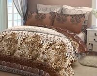 Комплект постельного белья двуспальный бязь  - 4457/2 кор. Притяжение