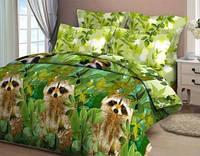 Комплект постельного белья двуспальный бязь  - 4206/1 Еноты