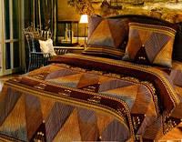 Комплект постельного белья Евро бязь -9461/1 Золотое шитье