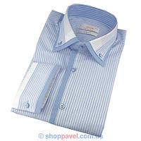 Мужские приталеные рубашки в разных цветах размер XXL 0200С