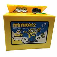 Замечательный подарок! Копилка воришка Миньон (миньон-воришка) money box Minion, фото 1