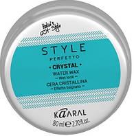 Crystal Воск для волос с блеском на водной основе 80 мл