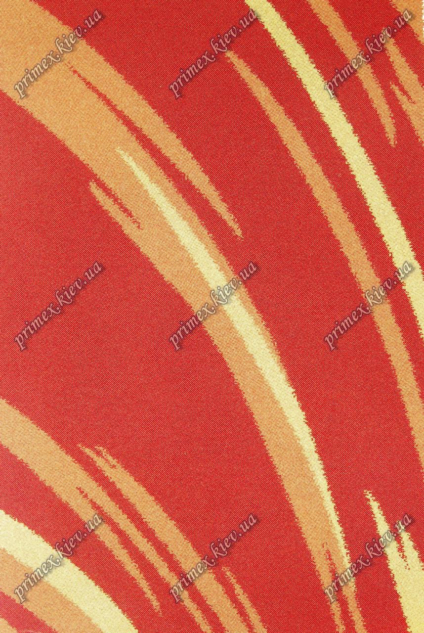 """Высоковрсный килим Шаггі """"Дихання"""", колір теракотовий"""
