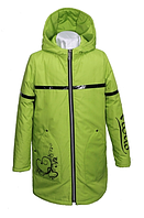 Куртка демисезонная для девочки Парижанка вассаби