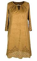 Платье № 32141S горчица