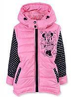 Куртка-жилетка для девочки