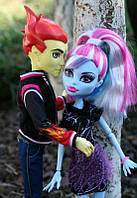 Monster High Abbey Bominable and Heath Burns Монстер хай Эбби  и Хит Бернс