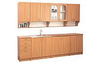 """Кухня  """"Вероника"""" 2.6м, Цена без столешницы, под заказ другой размер."""