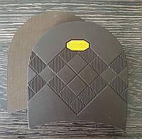 Набойки формованные BISSELL арт. RB-613 цвет коричневый (желтый логотип)