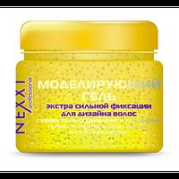 NEXXT Моделирующий гель экстра сильной фиксации для дизайна волос с эффектом восстановления и увлажнения (110