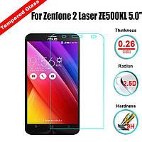 Защитное стекло для Asus ZenFone 2 Laser ZE550KL - HPG Tempered glass 0.3 mm