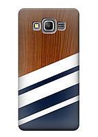 Чехол Samsung grand prime g530 / g531h - Wood style