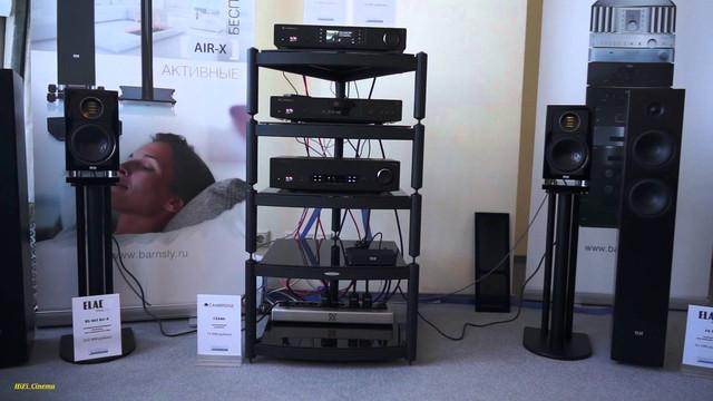 Elac AIR-X 403 активная акустическая система полочного типа со встроенным усилителем