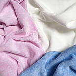 Трикотажное полотно меланж велюровый розового цвета (Польша), фото 4