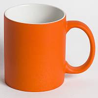 Чашка для сублимации хамелеон матовая