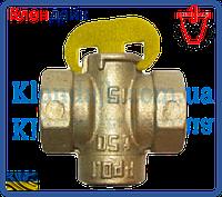 Кран конусный муфтовый 11Б34бк для газа