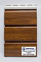 Соффит (панель потолочная) ламинированный , цвет Золотой дуб PVC