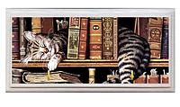 Вешалка для полотенец ( кот на полке)