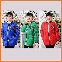 """Детские куртки с яркими аппликациями """"Злата"""""""