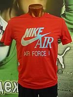 Футболка мужская Nike красная 51013