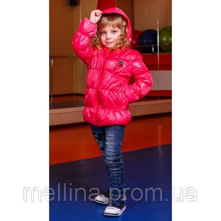 Демисезонная куртка для девочки Yagodka на рост 80 см
