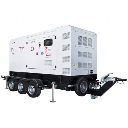 Трехфазный дизельный генератор MATARI MD800 (880 кВт)