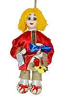 """Кукла-оберег """"Кузенька"""", 38 см красный"""