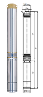 """Скважинные насосы диаметром 4"""" (102-105 мм)"""