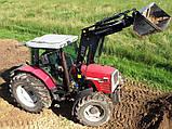 Фронтальный погрузчик на трактор Massey Ferguson, фото 3