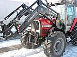 Фронтальный погрузчик на трактор Massey Ferguson, фото 7