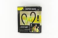 Наушники спортивные стильные Super Bass MD-612 for Sport