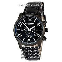 Удобные мужские наручные часы Montblanc TimeWalker Automatic All Black