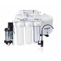 Система очистки воды Leader RO-5 P с помпой, фото 1