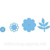 Набор лезвий Marianne Design Creatables - Flower & Button