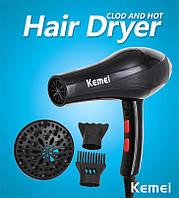 Фен для волос Kemei KM 8892, сушка для укладки волос