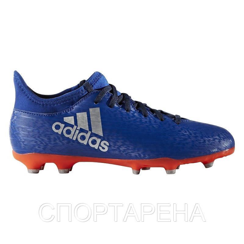 035d2862 Детские футбольные бутсы adidas X 16.3 FG JR BA8280 - СПОРТАРЕНА в Днепре