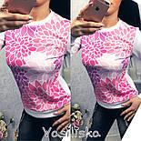 Женский стильный свитшот ( разные расцветки), фото 2