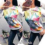 Женский стильный свитшот ( разные расцветки), фото 8