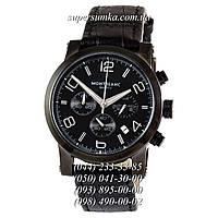 Кварцевые мужские наручные часы Montblanc TimeWalker All Black
