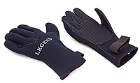 Перчатки для дайвинга с застежкой Legend M, L