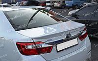 Оригинальный спойлер Toyota Camry V50 (спойлер на багажник Тойота Камри 50 оригинал)