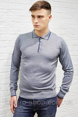 b0d4c3856720e Мужской свитер серый с воротником Bikkembergs: продажа, цена в ...