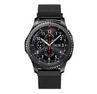 Миланский сетчатый ремешок для часов Samsung Gear S3 Classic SM-R770/Frontier RM-760 - Black