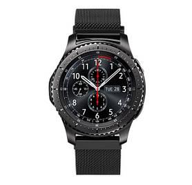 Міланський сітчастий ремінець Primo для годин Samsung Gear S3 Classic SM-R770/Frontier RM-760 - Black